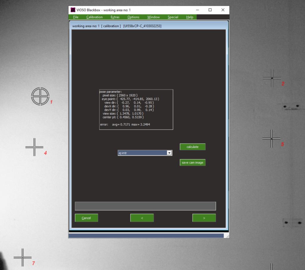 Projector Intrinsic Calibration – VIOSO Helpdesk